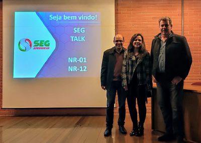 SEG TALK – Curitiba/PR 23-08-2019 Palestrantes
